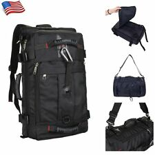 Mens Large Tactical Backpack Rucksack Shoulder Sport Hiking Camping Duffle Bag