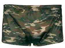 NEW TYR MEN'S Polymesh CAMOUFLAGE Trainer SWIM SUIT Briefs - USA MADE - Size 36
