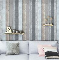 Self Adhesive Decor Contact Paper Wood Gray Peel and Stick Wallpaper Removable