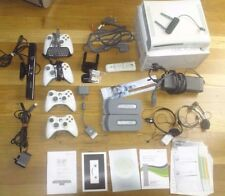 XBOX 360 ORIGINAL 60GB HDMI MODEL WITH WIRELESS N  / KINECT / REMOTE + MORE