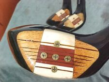 PERSIMMON Macgregor Toney Penna Golf Clubs Wood Set Driver 2 4 w New Tour Grips