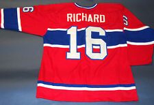 HENRI RICHARD CUSTOM MONTREAL CANADIENS THROWBACK JERSEY THE POCKET ROCKET