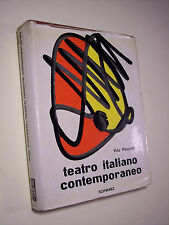 PANDOLFI, Vito: TEATRO ITALIANO CONTEMPORANEO 1945-1959, Schwarz 1959
