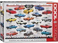 Américain Muscle Voiture Évolution 1000 Pièce Puzzle 680mm x 490mm ( Pz )