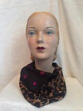 NIB LOUIS VUITTON STEPHEN SPROUSE Leopard Monogram Pink Dots Silk Snood Scarf