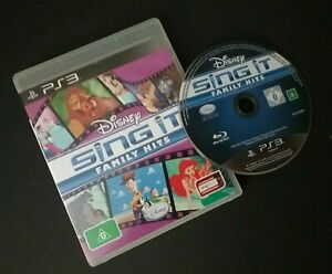 SING IT FAMILY HITS PS3 PLAYSTATION 3