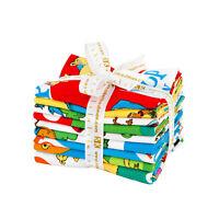 Dr. Seuss Hop On Pop 8 FQs + Panel Fat Quarter Bundle Precut Fabric FQ-1246-9