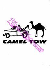 VINYL DECAL STICKER CAMEL TOW...FUNNY...CAR TRUCK WINDOW
