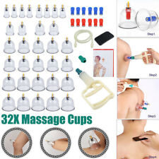 Chinese CUPPING SET 32 CUPS Slimming Vacuum Therapy Massage acupuncture Medical