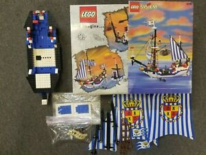 LEGO Pirates Spaniard Ship Set 6291 Part Lot with Sails, Box, and Instruction