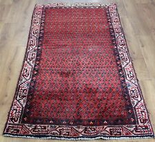 OLD WOOL HAND MADE PERSIAN ORIENTAL FLORAL RUNNER AREA RUG CARPET 188x90CM