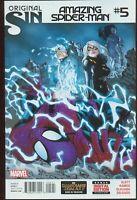 Amazing Spider-Man # 5 Original Sin NM- 2ND Appearance Silk Marvel ITEM: 20644