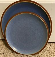 "Denby JUICE BERRY 10 1/2"" Dinner Plate & 8 7/8"" Salad Plate"