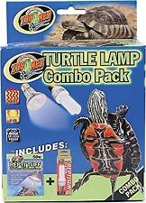 Zoo Med Combo Pack Turtle Lamp B00cyde3ww