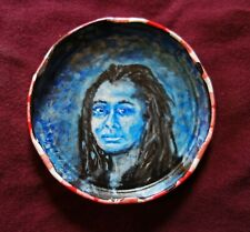 ALICE WALKER, Jam Jar Lid Portrait, Poetry, Outsider Folk Art by PETER ORR
