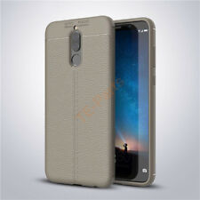For Huawei Nova 2i/Mate 10 Lite Shockproof Soft Rubber Leather Back Case Cover