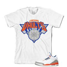 Effectus ropa Tee para que coincida con Jordan Retro 3 bóvedas camiseta de los Knicks.