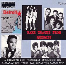 Marvin Gaye, Miracles- Detroit Rare Tracks- Volume Two - Original Bar CD 126