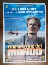 FILM- FINO ALLA FINE DEL MONDO,ANNO 1991-MANIFESTO ORIGINALE(100 X 140)N.61