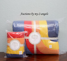 Pottery Barn Kids JUSTINA BLAKENEY ASTRONOMAD Twin Quilt + Sham *space vibrant