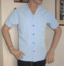 NUOVA Linea Uomo Ragazzi Azzurro pallido Ted Baker Camicia a maniche corte in microfibra Medio 38/40
