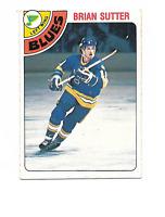 1978-79 O-Pee-Chee #319 Brian Sutter RC Rookie St Louis Blues