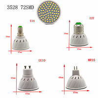 LED Spot Lights 3528 5050 SMD Bulbs 3/4/5/6/7W Lamp Cool Warm NaturalWhite 220V