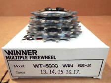 New-Old-Stock Suntour Winner 5-Speed Freewheel (13x17) w/Silver Finish