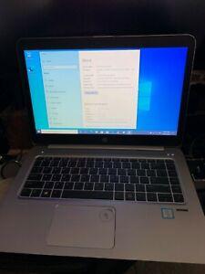 HP Elitebook Folio G3 1040 ULTRABOOK - i7, 8GB Ram, 256GB SSD, SIM, Win 10 Pro