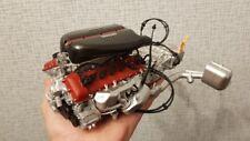 Engine model 1/8 scale laferrari, metal, plastic automotive motor 1:8