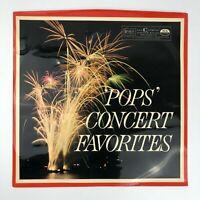 Pops Concert Favorites LP Vinyl Record RCA RDS-31-11 Reader's Digest Good