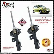 KIT 2 AMMORTIZZATORI ANTERIORI FIAT PANDA 169 1.2 Natural Power METANO 44KW