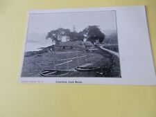 More details for  vintage postcard   p7  b1 letterfern loch duich  airdferry series  no 4  vgc