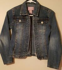 Baby LiLi Kids Girl Jacket Size M Denim Blue