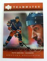 Wayne Gretzky 1999-00 Upper Deck Exclusives #72 Teammates New York Rangers