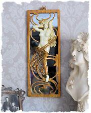 Historischer Spiegel Frauenakt Vintage Dekoration im Jugendstil Belle Epoque