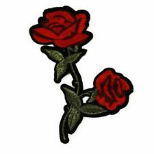 Insignia Parche De Hierro/Coser Ropa Bolsa De Tela Apliques Craft transferencia P51 Doble Rose