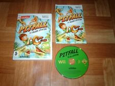 PITFALL...la grande aventure...jeu complet...sur Wii
