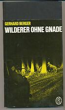 Jagd Wilderer ohne Gnade Gerhard Berger Parey EA 1967