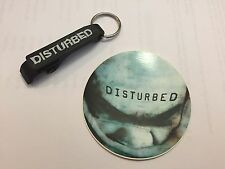 Disturbed Band Bottle Opener with Bonus Sticker