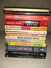 Writing Books Scriptwriting Copywriting TV  Screenplays Movies  Lot of 13 Used