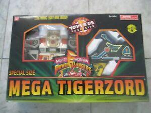 1994 Mighty Morphin Power Rangers Mega Tigerzord Bandai New in box RARE FREEShip