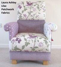 Laura Ashley Amethyst Fabrics Adult Chair Patchwork Armchair Lilac Villandry New