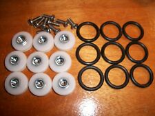 Rod Building Wrapping Custom machined lathe rollers Pac Bay
