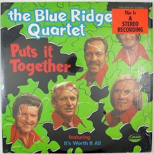 BLUE RIDGE QUARTET Puts It Together LP 1973 COUNTRY GOSPEL NM- NM-