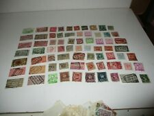 Postage Stamps: Belgium: used, unsorted