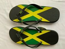 JAMAICA FLAG RUBBER FLIP FLOPS MEN SLIPPERS
