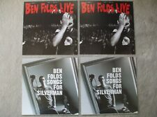Ben Folds Five 4 album cover slicks  Live & Songs For Silverman Epic Records