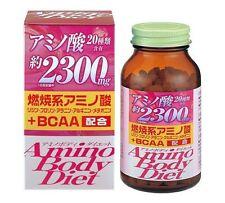 ORIHIRO Japan AMINO BODY DIET 300 tablets Dietary Supplement F/S