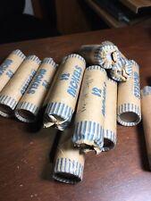 Pre 1965 Jefferson Nickels Rolls 1938 - 1964